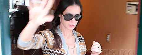 Demi Moore Hospitalized For