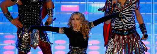 NEW VIDEO! Watch Madonna Fall During Super Bowl Performance