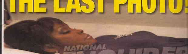 NEW PHOTO: Whitney Houston Coffin Photo On National Enquirer Cover...VOTE: In Bad Taste?