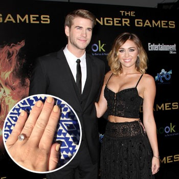 Engagement Ring Nope Miley Cyrus Is NOT Engaged To Liam Hemsworth