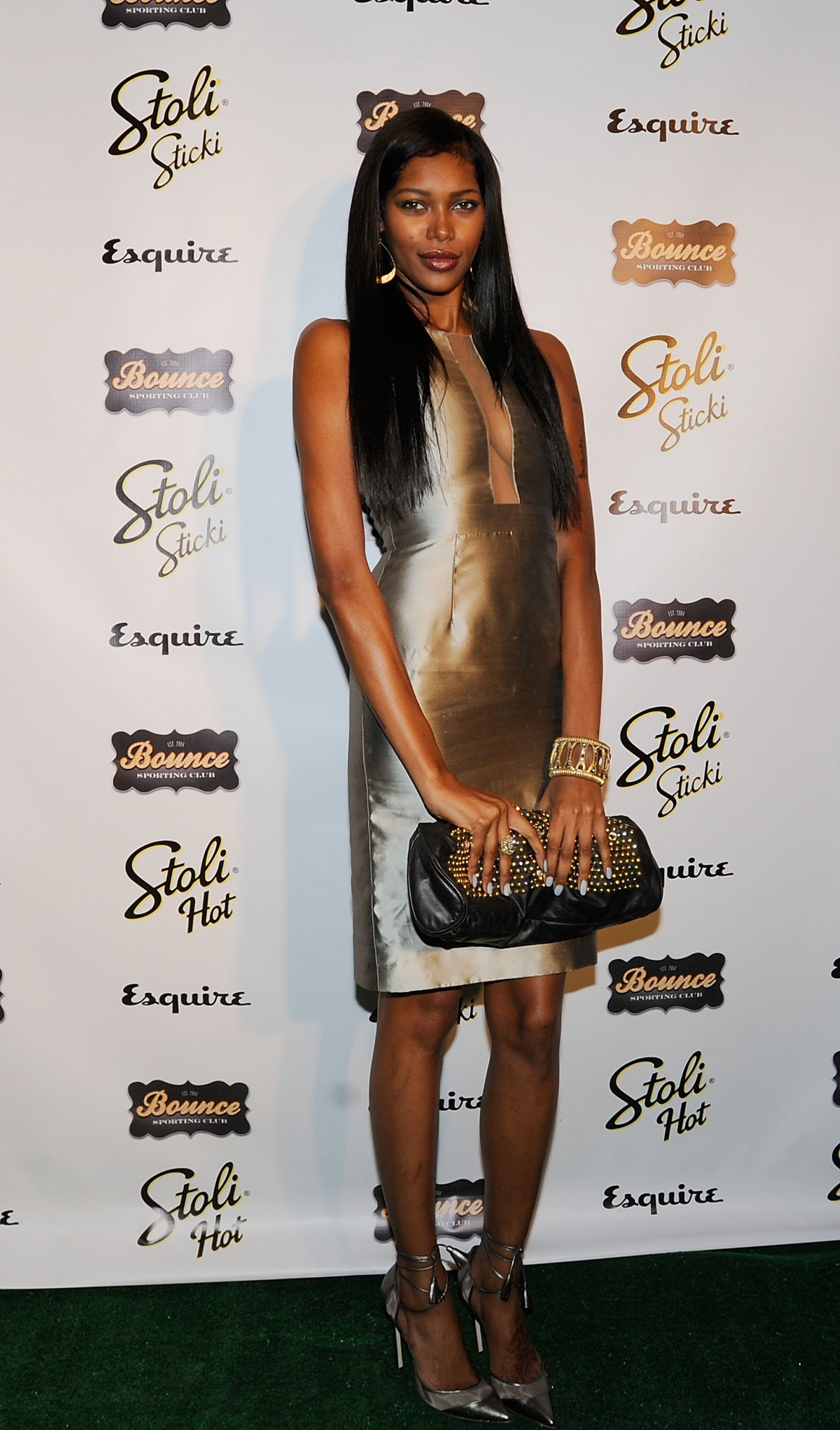 "Sports Illustrated Model Jessica White at ""The Kickoff: Toasting The 2012 NFL Draft Class, presented by Bounce Sporting Club & Esquire Magazine. (WireImage/Bobby Bank)"