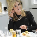 Heidi Klum at the editors' lunch (Dimitrios Kambouris/Getty Images for QVC)