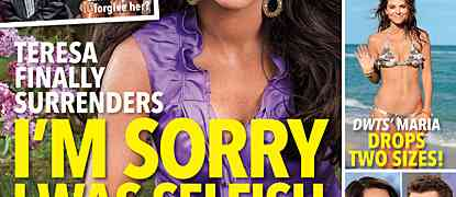New In Touch Cover! NJ Housewives Teresa Giudice: Oops, My Bad!