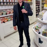 Joey Lawrence at the Sugar Factory's retail store at the Paris Las Vegas (David Becker/WireImage)