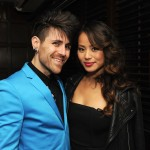 "Davey Havok and Jamie Chung at the Tribeca Film Festival 2012 After-Party For Their Film ""Knife Fight,"" Hosted By BR Guest, At 675 Bar (Craig Barritt/Getty Images for BR Guest)"