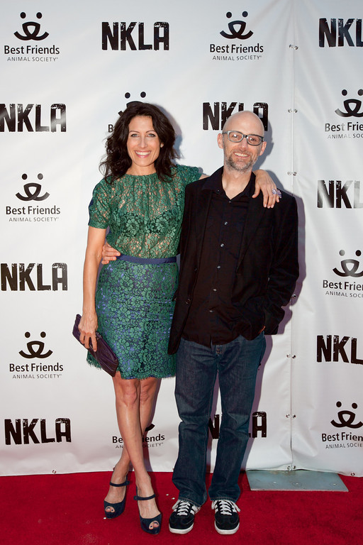 Lisa Edelstein and Moby