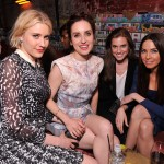 "Actresses Greta Gerwig, Zoe Lister Jones, Allison Williams and Whitney Cummings at the Tribeca Film Festival 2012 After-Party For ""Lola Versus,"" Hosted By BR Guest At 1920 Bunker Club (Stephen Lovekin/Getty Images for BR Guest)"