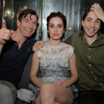 "Jerry O'Connell, Zoe Lister Jones and Justin Long at the Tribeca Film Festival 2012 After-Party for their film ""Lola Versus,"" Hosted by BR Guest, at 1920 Bunker Club. (Stephen Lovekin/Getty Images for BR Guest)"