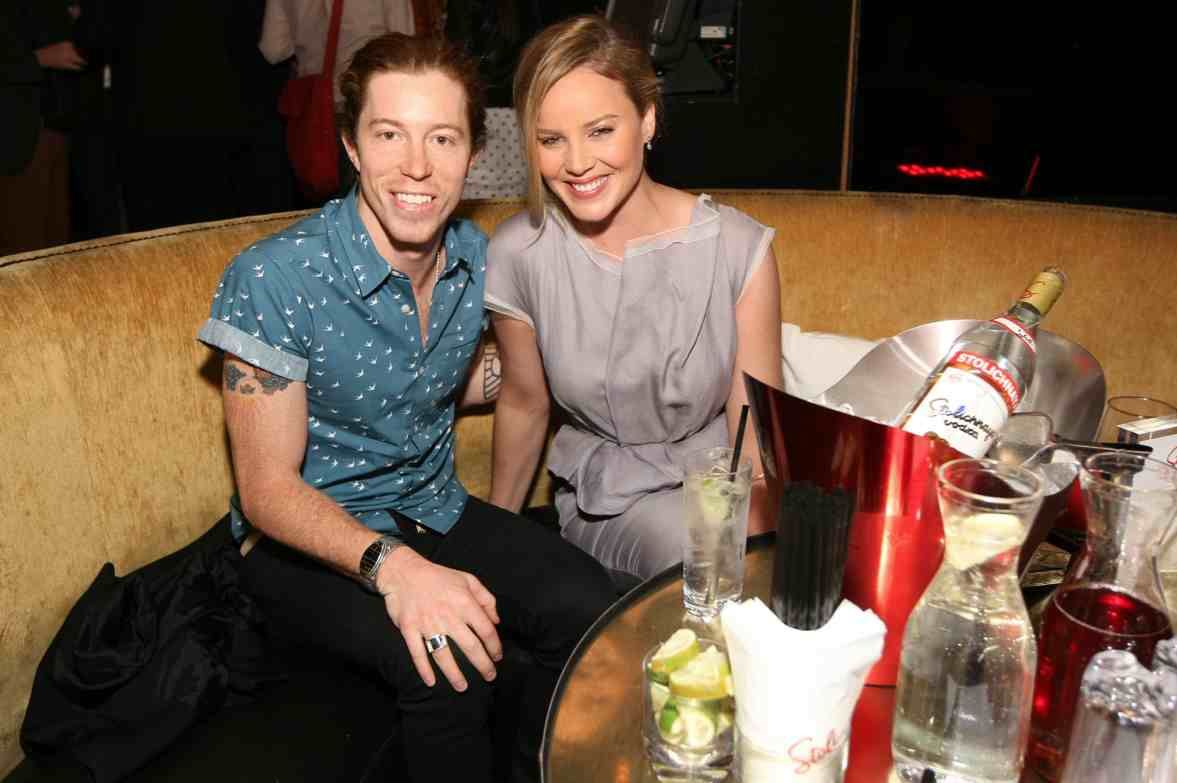 Snowboarder Shaun White and Actress Abbie Cornish At The After-Party For Her Film &quot;The Girl&quot;, hosted by Stolichnaya Vodka at 1OAK In NYC. (GettyImages.com)