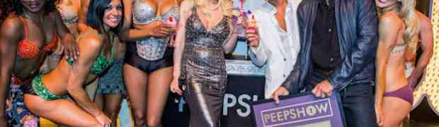 5 New Photos! Holly Madison At 'Peepshow' Anniversary Party!