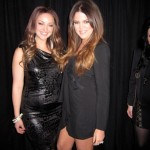 Khloe Kardashian and her SNL lookalike at the E! Upfronts (KhloeKardashian.Celebuzz.com)