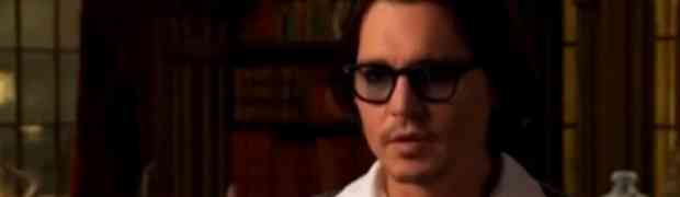 New Johnny Depp Video Interview! Why Vampires Are So Intriguing!