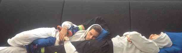 Photo: Scott Disick Naps Between Rob Kardashian's Legs