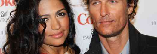 Newlyweds Matthew & Camila McConaughey Expecting Child # 3