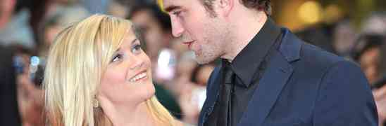 Robert Pattinson Hiding Out At Reese Witherspoon's California Estate