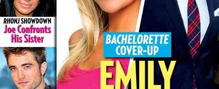 New 'Us Weekly' Cover: 'Bachelorette' Couple Emily Maynard & Jef Holm Are FAKING Their Engagement