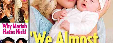 New 'Us Weekly' Cover: Meet Tori Spelling's Baby Boy Finn Davy McDermott!