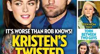 New 'OK' Magazine Cover: Kristen Stewart 'Tricked' Robert Pattinson Into Getting Back Together