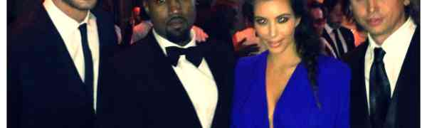 Party Photos! Team Kardashian's Glam Night Out In NYC – Kim, Kanye, Jonathan & Simon Attend Star-Studded Angel Ball