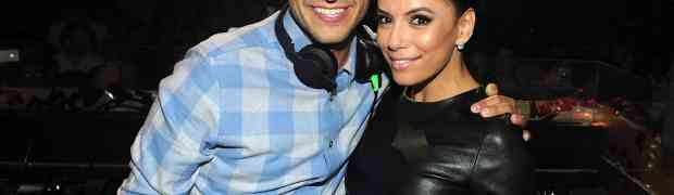 New Party Photos! Eva Longoria & Dania Ramirez Kick Off Their Heels (Literally!) At TAO Nightclub