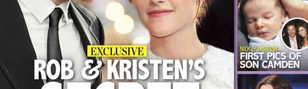 New 'Life & Style' Cover: Kristen Stewart Wants Robert Pattinson To Put A Ring On It!