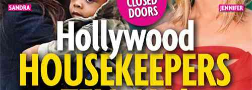 New 'Star' Magazine: Hollywood Help Spills Secrets Of The Stars!