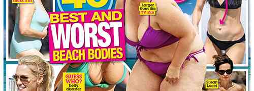 New 'National Enquirer' Cover: Celebs Who Don't Belong In Bikinis