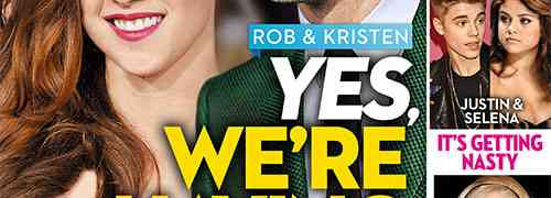 New 'OK!' Magazine Cover: Kristen Stewart & Robert Pattinson....First Comes Reconciliation, Now Comes Babies!