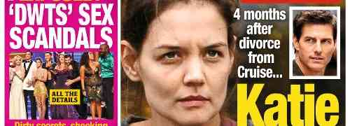 New 'National Enquirer' Cover: Tom Cruise Still Has Grip Over Katie Holmes — 4 Months After Split!