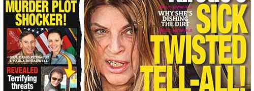 New 'National Enquirer' Cover: Petraeus 'Murder Plot Shocker' & Kirstie Alley Is Still 'Sick' & 'Twisted'