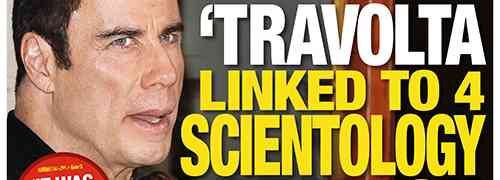 New 'National Enquirer' Cover: John Travolta Linked To Scientology Deaths....Kate Middleton: Pregnant & 96 Pounds!?!