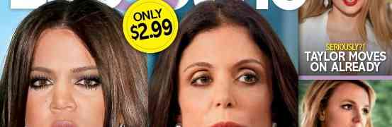 NEW 'LIFE & STYLE' COVER: Bethenny Frankel & Khloe Kardashian Rocked By Cheating Scandals