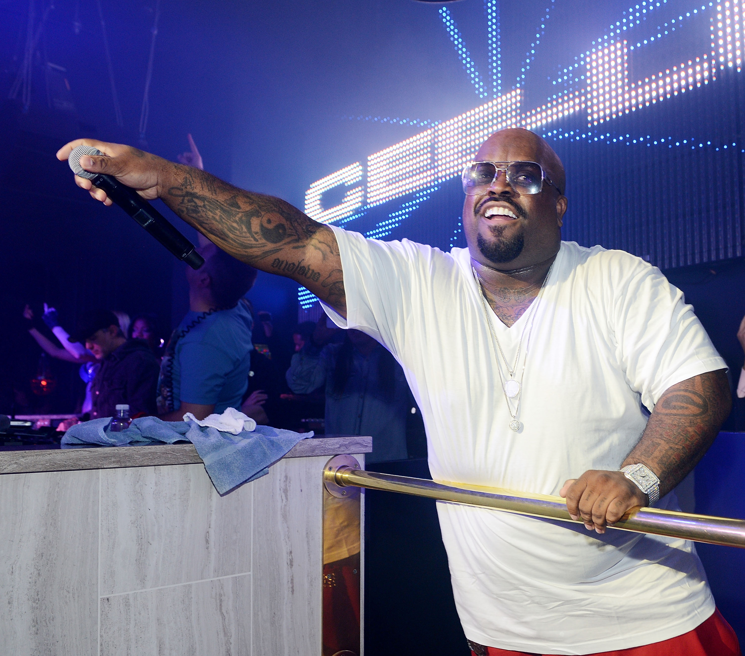 CeeLo Green performs at Chateau Nightclub In Las Vegas Dec. 30. (Denise Truscello/WireImage)