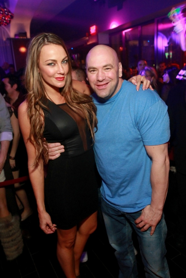 Dana White at Hyde Bellagio in Las Vegas Dec. 30. (Tony Tran/Hyde Bellagio)