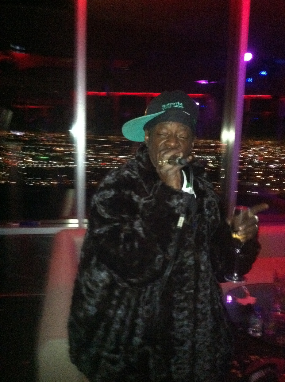 Flavor Fav at ghostbar in Palms Casino Resort in Las Vegas Dec. 31, 2012. (9Group Las Vegas)