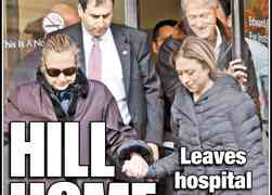VIDEO: Hillary Clinton Discharged From NYC Hospital