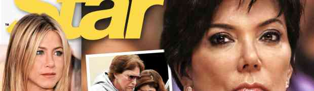 NEW 'STAR' COVER: Kris Jenner & Bruce Jenner Divorce-Bound? She Doesn't Love Him & They Have No Sex