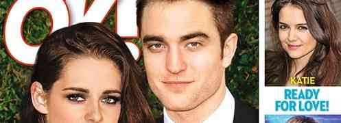 NEW 'OK!' COVER: Robert Pattinson & Kristen Stewart: They're Getting Married