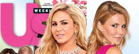 NEW 'US WEEKLY' COVER: Real Housewives of Beverly Hills' Brandi Glanville & Adrienne Maloof's Feud Heats Up