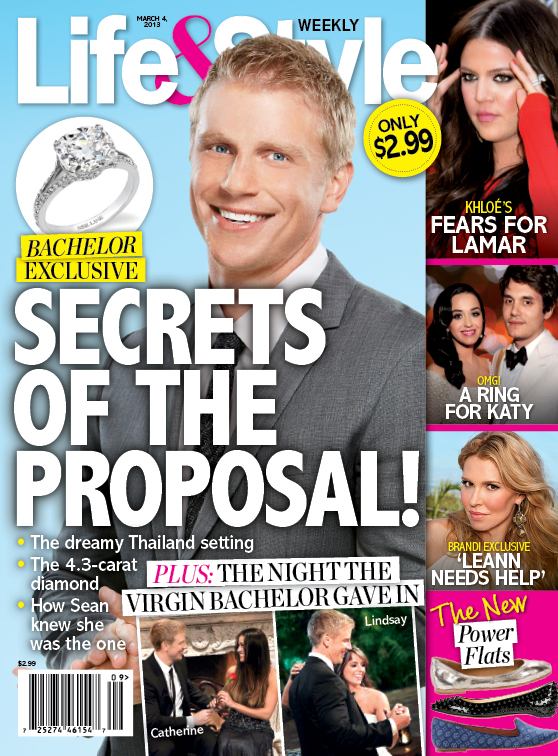 New Life Style Cover Spoiler The Bachelors Sean Lowe Is