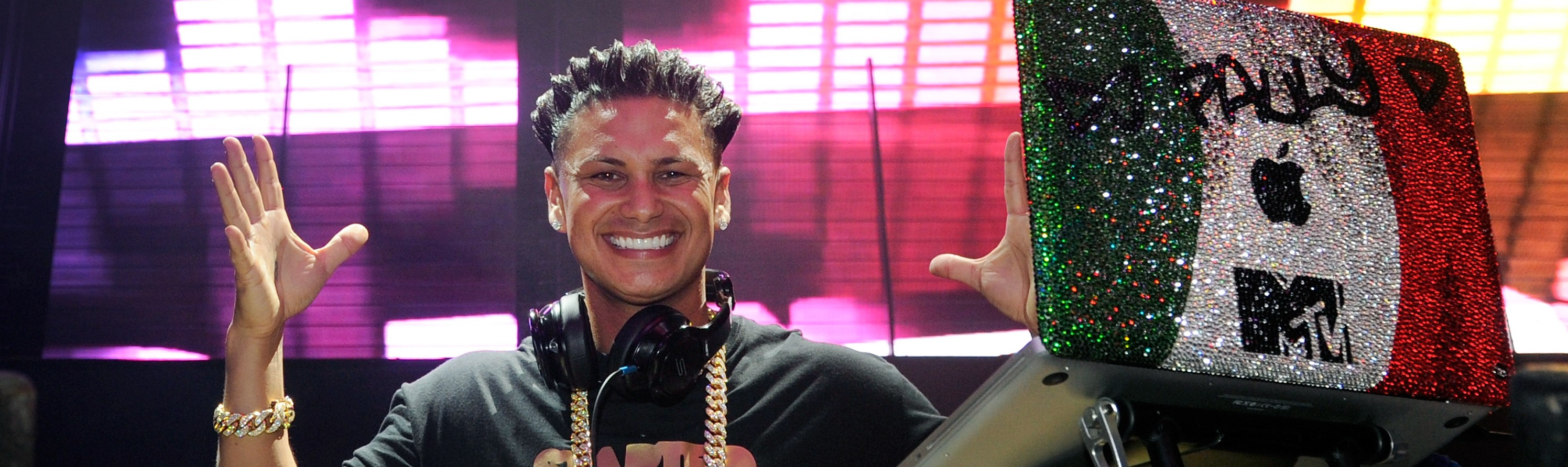 "DJ Paul ""Pauly D"" DelVecchio at Haze Nightclub at the Aria Resort & Casino at CityCenter Feb. 16 in Las Vegas."