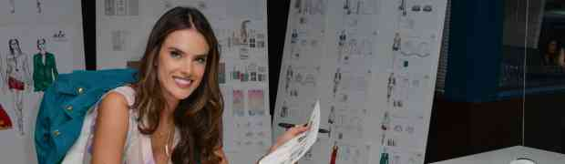 4 NEW PHOTOS: Victoria's Secret Model Alessandra Ambrosio Designs Her Upcoming Collection