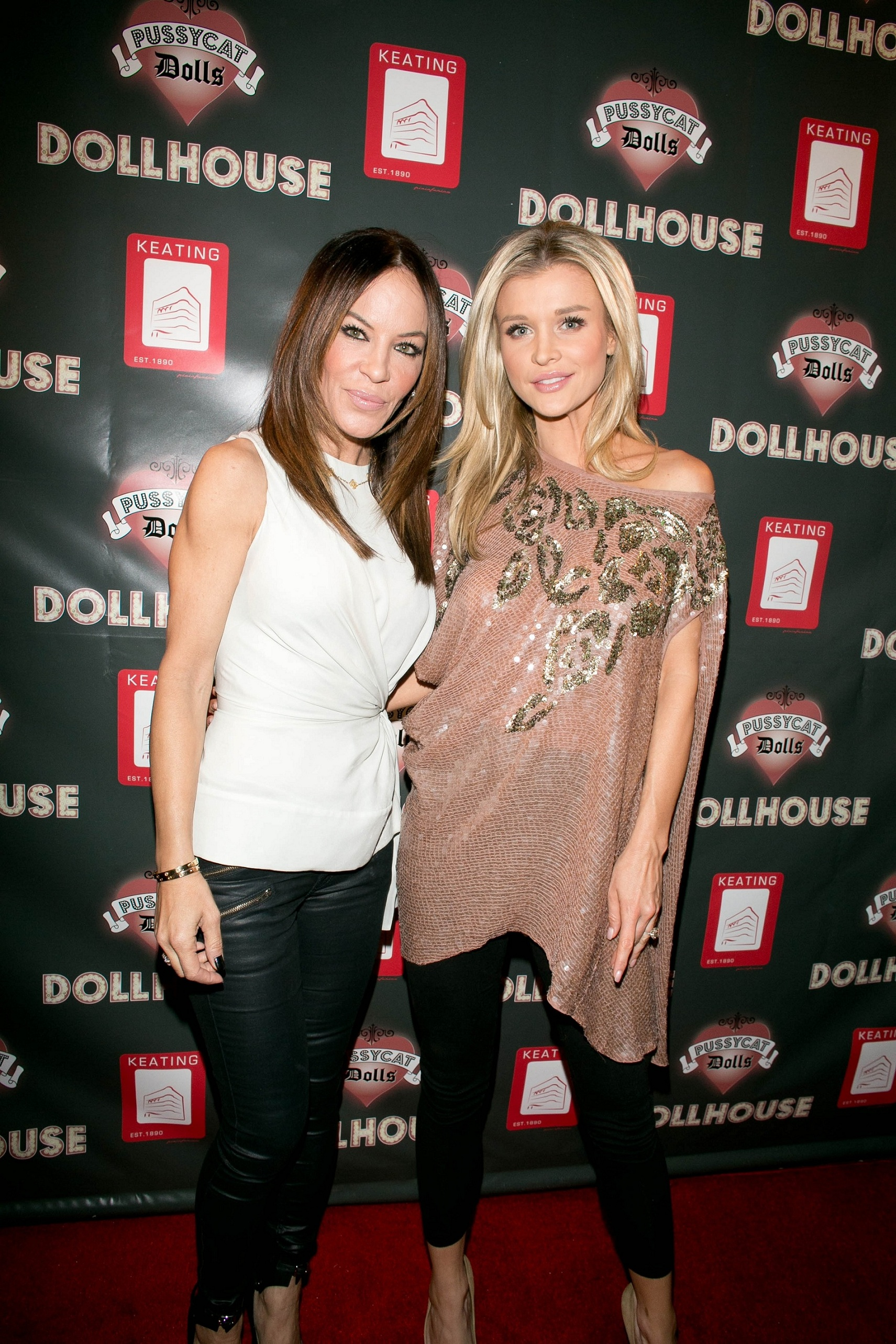 Joanna Krupa and Robin Antin at the Pussycat Dolls Dollhouse at The Keating Hotel in San Diego Feb. 16. (Robert Benson/WireImage)