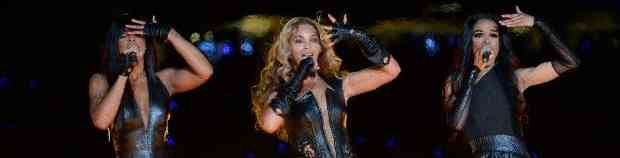 SUPER BOWL VIDEO: Watch Beyonce (& Destiny's Child!) Half-Time Show!