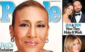 NEW 'PEOPLE' COVER: Good Morning America's Robin Roberts: I'm Feeling Stronger Each Day