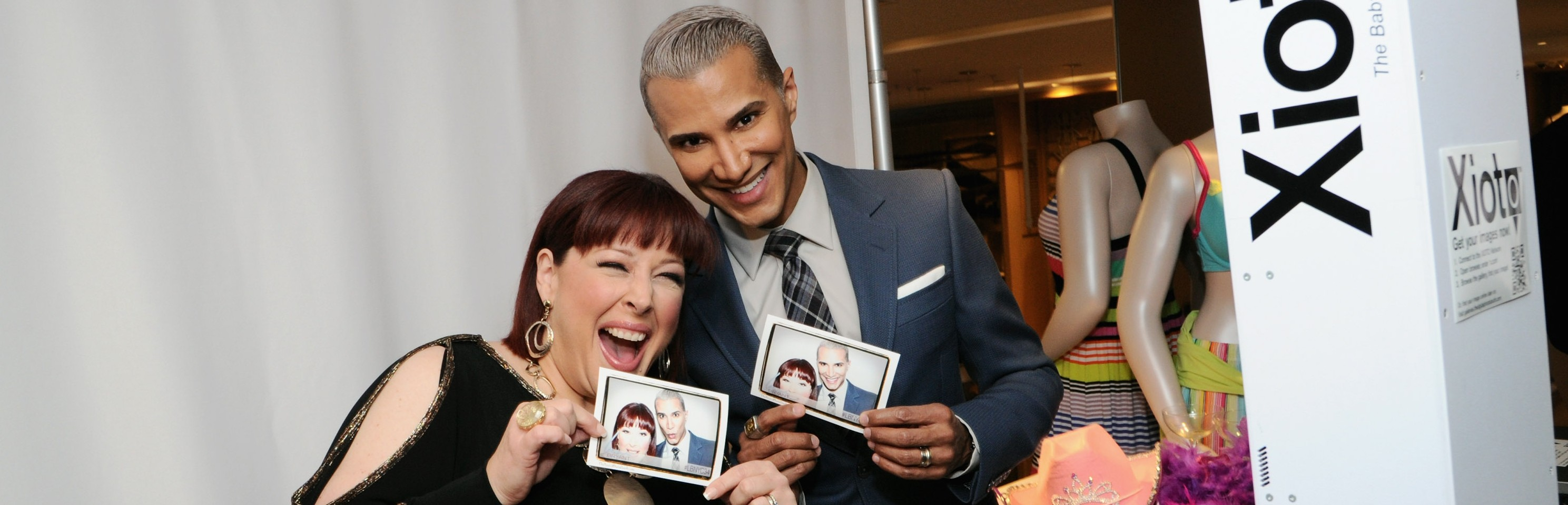TV personality Jay Manuel and Carnie Wilson at the opening of Lane Bryant's NYC Flagship on West 34th Street on Feb. 28. (Ilya S. Savenok/Getty Images)