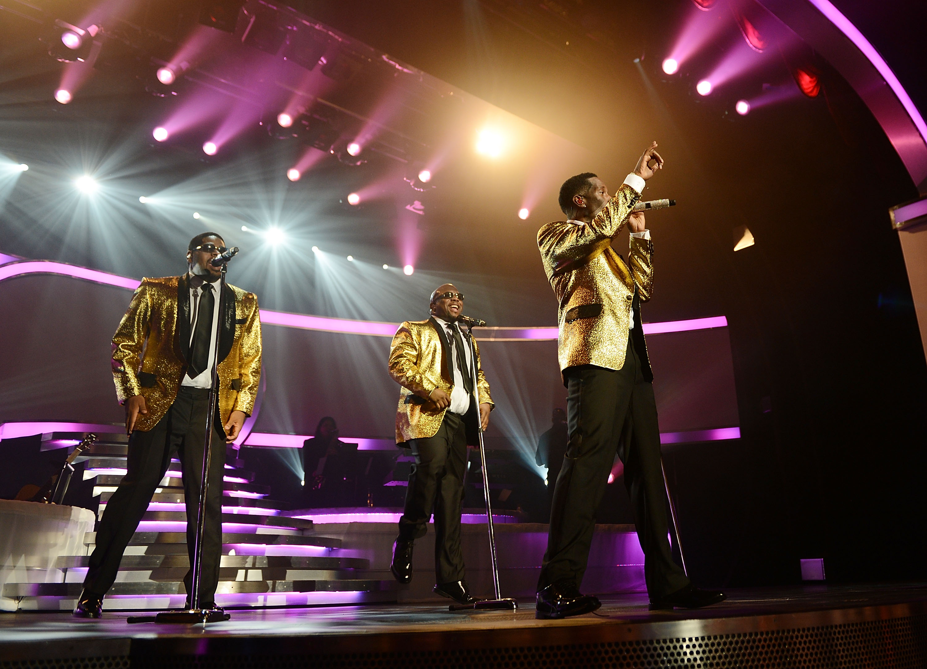 Boyz II Men kick off their Las Vegas residency at the Mirage Hotel and Casino on March 1 in Las Vegas. (Denise Truscello/Wireimage)