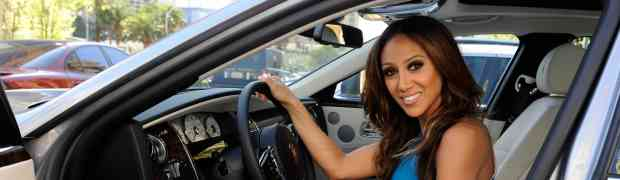 4 PHOTOS: Melissa Gorga Hits Las Vegas In A Rolls-Royce Ghost...Thanks To Husband Joe