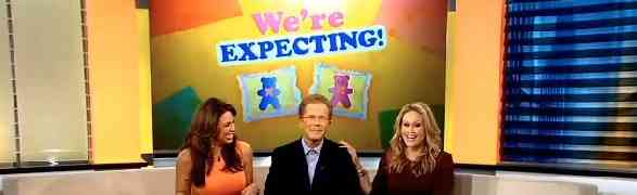 Double Delivery! 'Live From The Couch' Co-Hosts Lisa Kerney, Carolina Bermudez Reveal They're Both Pregnant!