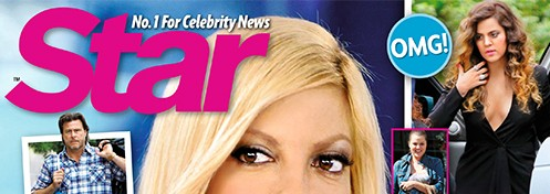 NEW 'STAR' COVER: More Details About Tori Spelling's Alleged Divorce